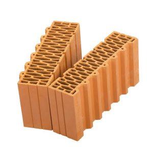 Доборный керамический блок Porotherm 44 1/2, М100, 440х250х219 мм
