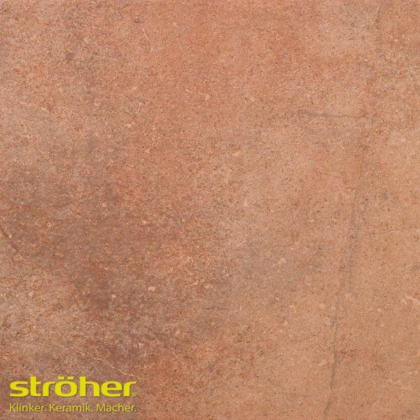 Клинкерная напольная плитка Stroeher AERA X 755 camaro 40x40, 394x394x10 мм