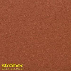 Клинкерная напольная плитка Stroeher TERRA 215 patrizierrot 24x24, 240x240x12 мм