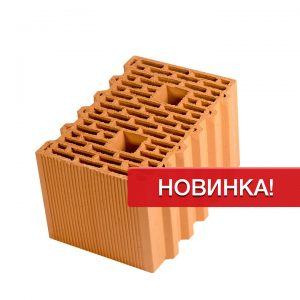 Крупноформатный керамический блок Porotherm 38 GL, М100, 380х250х219 мм