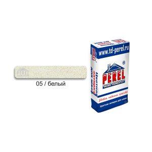 Затирка PEREL RL 0405 белый, 25 кг