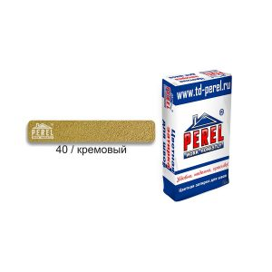 Затирка PEREL RL 0440 кремовый, 25 кг