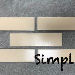 Клинкерные термопанели Simple Beige