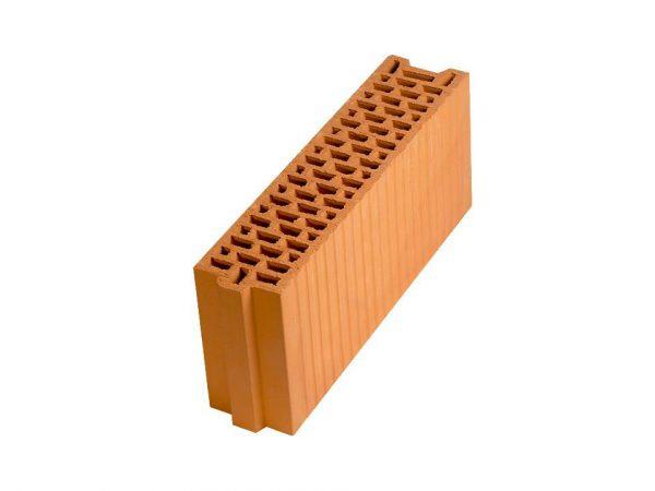Керамический поризованный блок Porotherm 12, М100, 120х500х219 мм