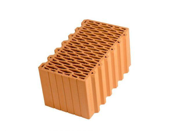 Крупноформатный керамический блок Porotherm 44, М100, 440х250х219 мм