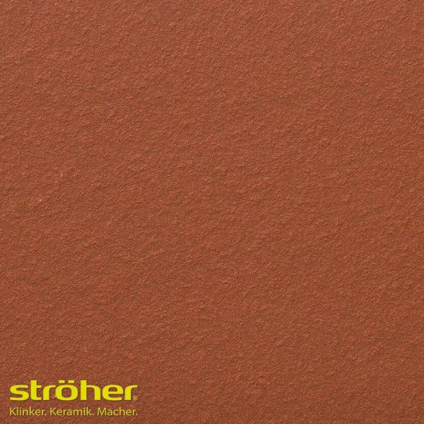 Клинкерная ступень флорентинер Stroeher TERRA 215 patrizierrot 24, 9240, 240x340x12 мм