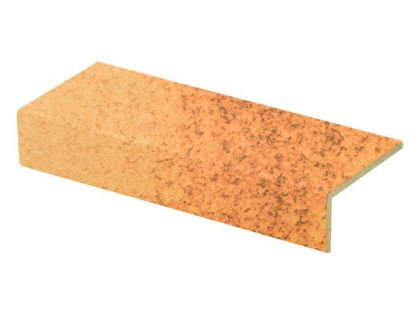 Клинкерная ступень прямая Stroeher DURO 803 elba 25, 4822, 240х115х52х10 мм
