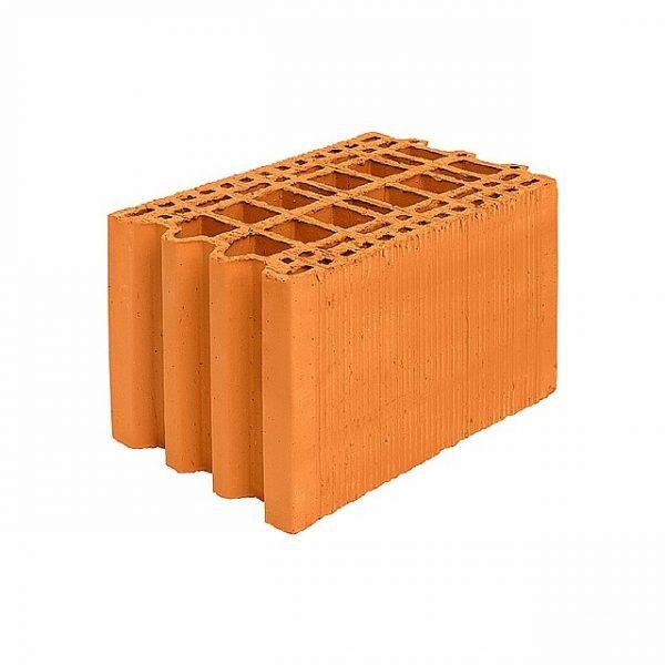 Крупноформатный керамический блок Porotherm 25М улучшенный, М100, 250х375х219 мм