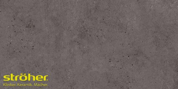 Клинкерная напольная плитка Stroeher GRAVEL BLEND 963 black 30x30, 294x294x10 мм
