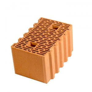 Крупноформатный керамический блок Porotherm 38, М100, 380х250х219 мм