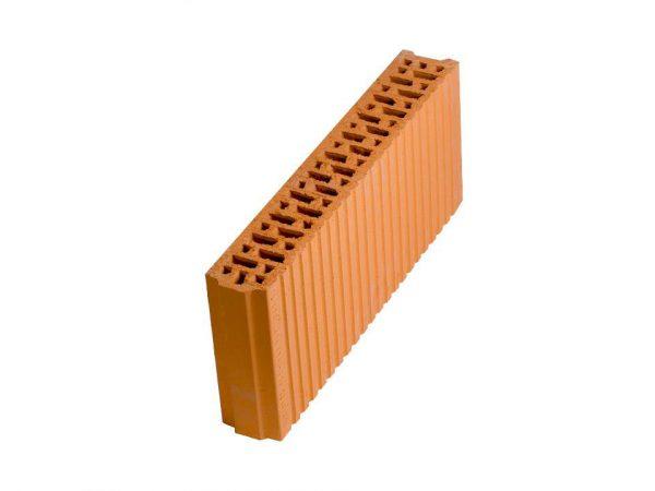 Керамический поризованный блок Porotherm 8, М100, 80х500х219 мм