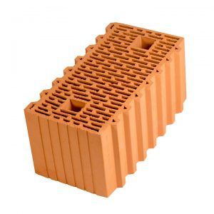 Крупноформатный керамический блок Porotherm 51, М100, 510х250х219 мм