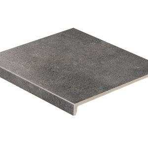 Клинкерная ступень прямая Stroeher Zoe 973 anthracite 30, 9430, 294х340х35х11 мм