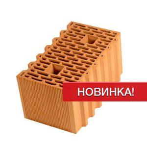 Крупноформатный керамический блок Porotherm 44 GL, М100, 440х250х219 мм