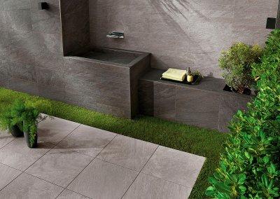 Lastra Cliff Grigio 60x60 2