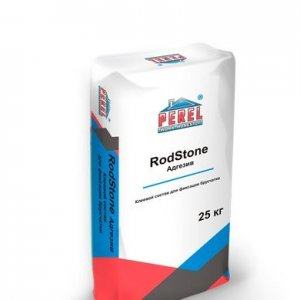 Perel «RodStone - Адгезив» 0902 серый, 25 кг.