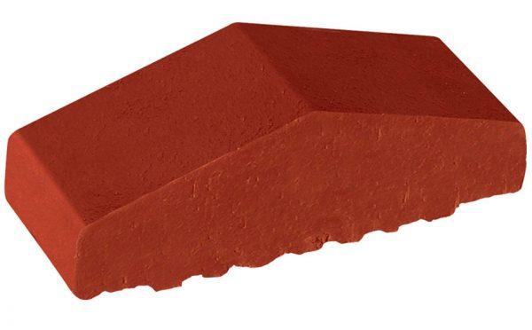 Профильный кирпич полнотелый KING KLINKER 06 Note of cinnamon, 180/120*65*58 мм