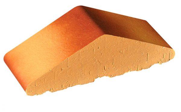 Профильный кирпич полнотелый KING KLINKER 11 Desert rose tone, 180/120*65*58 мм