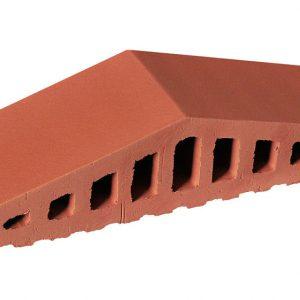 Профильный кирпич KING KLINKER 01 Ruby red, 310/250*100*78 мм