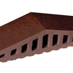 Профильный кирпич KING KLINKER 02 Brown-glazed, 310/250*100*78 мм