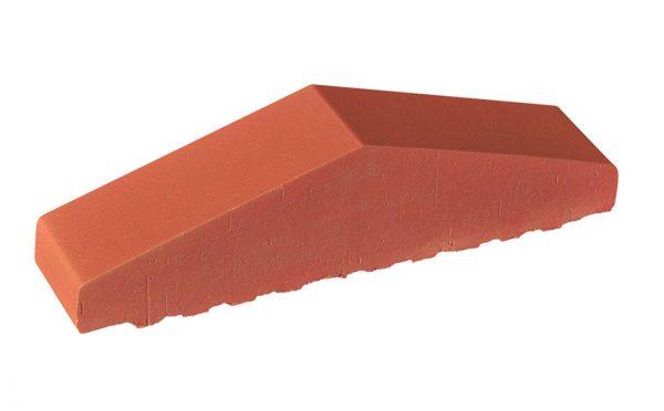 Профильный кирпич полнотелый KING KLINKER 01 Ruby red, 310/250*65*78 мм