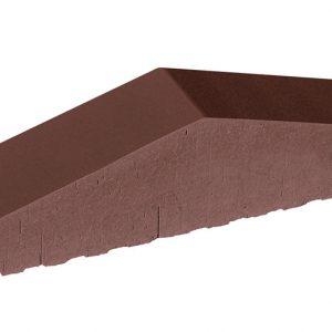 Профильный кирпич полнотелый KING KLINKER 03 Natural brown, 310/250*65*78 мм