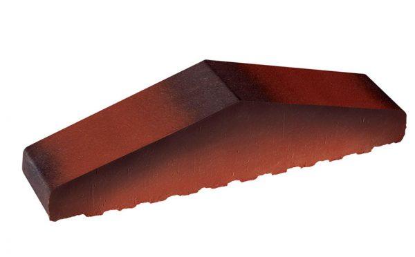 Профильный кирпич полнотелый KING KLINKER Дикое вино (04), 310/250*65*78 мм