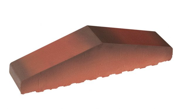 Профильный кирпич полнотелый KING KLINKER Таинственный сад (05), 310/250*65*78 мм