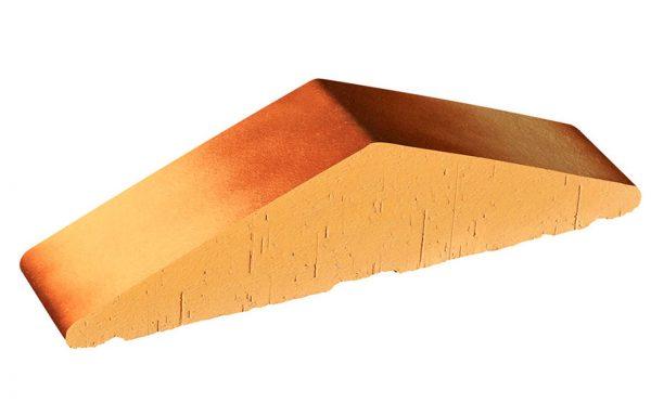 Профильный кирпич полнотелый KING KLINKER 11 Desert rose tone, 310/250*65*78 мм