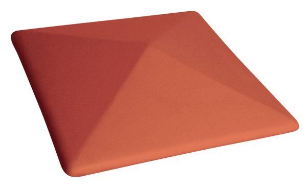 Колпак на забор KING KLINKER 01 Ruby Red, 445*585*106 мм