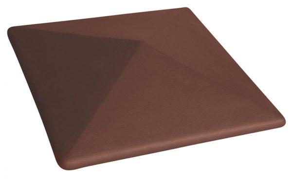 Колпак на забор KING KLINKER 03 Natural Brown, 445*585*106 мм