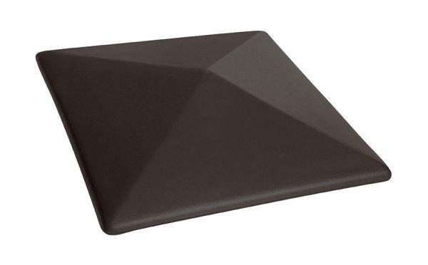 Колпак на забор KING KLINKER Вулканический черный (18), 400*400*90 мм