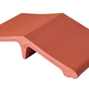 Профильный кирпич KING KLINKER 01 Ruby red, 445*250*90 мм