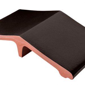 Профильный кирпич KING KLINKER 17 Onyx black, 445*250*90 мм