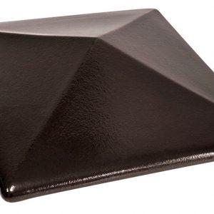 Колпак на забор KING KLINKER 17 Onyx Black, 310*445*90 мм
