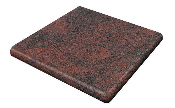 Угловая ступень Gres Aragon Jasper Rojo, 330*330*18(53) мм