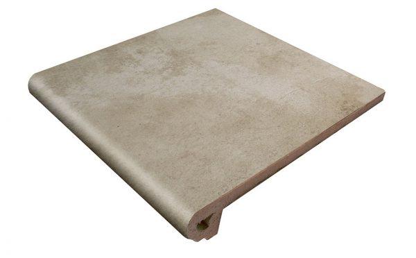 Клинкерная ступень Gres Aragon Antic Ceniza, 330*325*18(53) мм