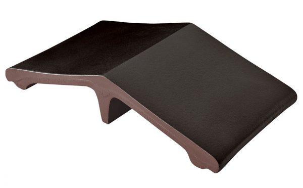 Профильный кирпич KING KLINKER Вулканический черный (18), 445*250*90 мм