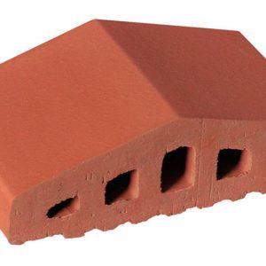 Профильный кирпич KING KLINKER 01 Ruby red, 180/120*100*58 мм