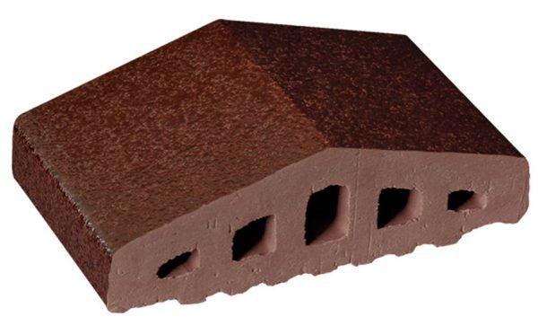 Профильный кирпич KING KLINKER 02 Brown-glazed, 180/120*100*58 мм