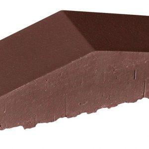 Профильный кирпич полнотелый KING KLINKER 03 Natural brown, 180/120*65*58 мм