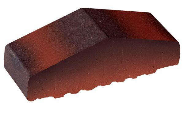Профильный кирпич полнотелый KING KLINKER Дикое вино (04), 180/120*65*58 мм