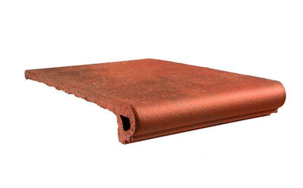 Клинкерная ступень Gres Aragon Antic Cuero, 330*325*18(53) мм