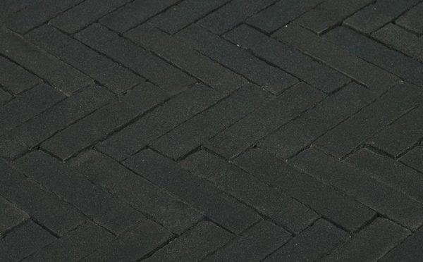 Клинкерная тротуарная брусчатка Penter Nero, 200*50*85 мм