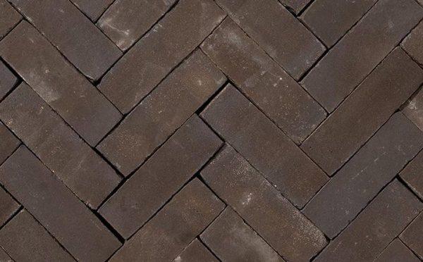 Клинкерная тротуарная брусчатка Penter Nostalgie wasserstrich, 200*65*65 мм