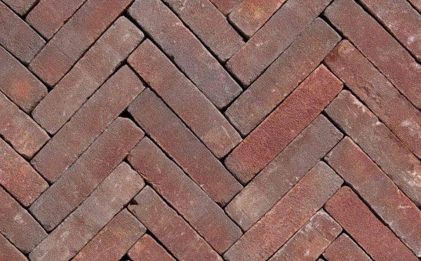 Клинкерная тротуарная брусчатка Penter Ruston tumbled, 200*50*85 мм
