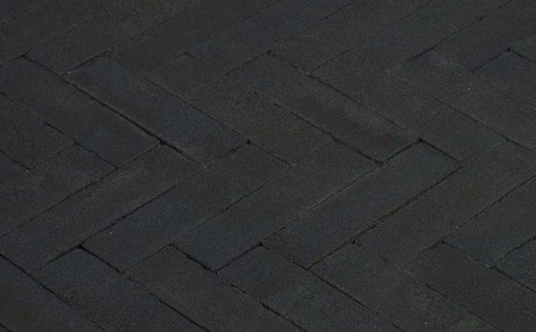 Клинкерная тротуарная брусчатка Penter Nero, 240*65*80 мм