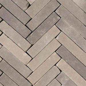 Клинкерная тротуарная брусчатка Penter Lotis onbezand tumbled, 200*50*65 мм