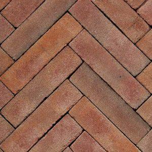 Клинкерная тротуарная брусчатка Penter Ravenna tumbled, 200*50*85 мм