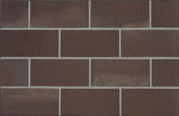 Тротуарная клинкерная плитка Stroeher 212 braun, 240х115х18 мм